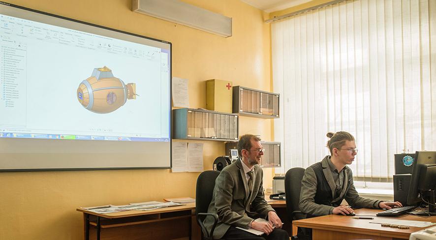 Молодые инженеры выбирают 3D