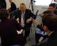 Откровенность суждений главы Якутии Егора Борисова вызвала большой интерес журналистов. Фото автора