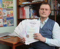 Евгений Коптяев — автор 15 патентов на изобретения и один из победителей конкурса технологических проектов от фонда «Сколково». Фото автора