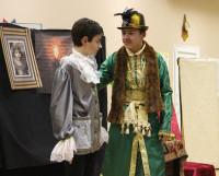 Спектакль «Райское яблоко» театра «Ключ» собрал большое количество зрителей. Фото автора