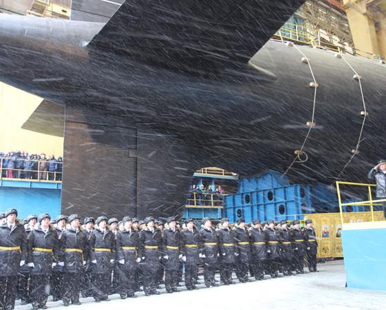 Экипаж АПЛ «Казань» под командованием Александра Бекетова был сформирован год назад. Фото Екатерины Курзенёвой