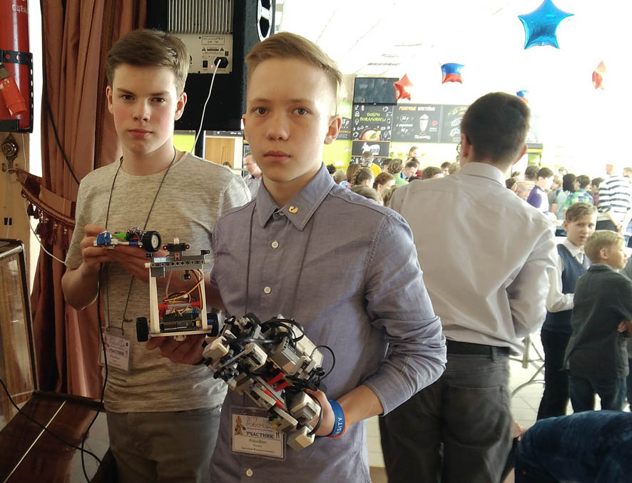 Создаём роботов за неделю