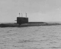 АПЛ проекта 667АУ. Фото из фонда музея «Звёздочки»