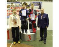 Фото из архива автора. На пьедестале (слева направо) И. Барышников и Д. Губкин.
