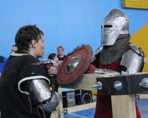 Подготовка к бою — неотъемлемая часть поединка.