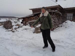 Сотрудник музея Любовь Карпова: «Здесь будет арт-объект!».