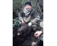 Медведь охотники-m