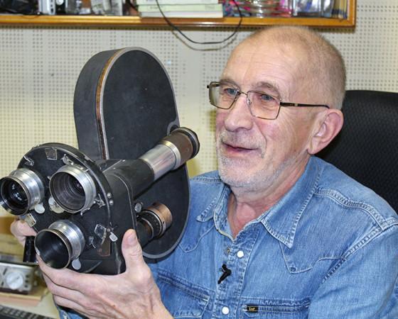 Расцвет документального кино пришёлся на 1980-е, когда в ходу были такие массивные камеры