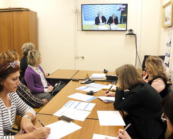 Обсуждение вопросов проходило в режиме видеоконференции.