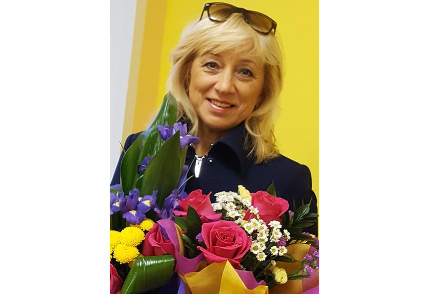 Ольга Ильина и её бригада