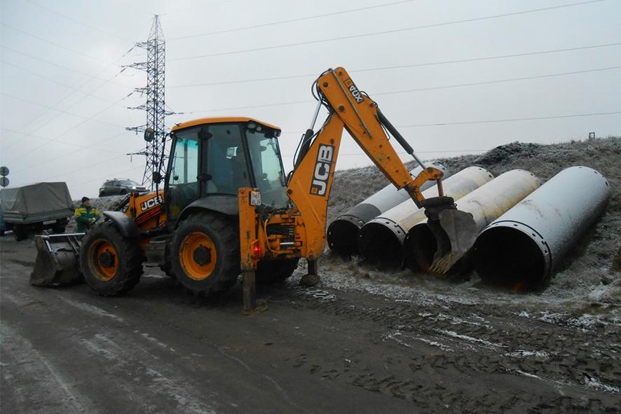 Дождались: начато строительство нового моста через Исакогорку