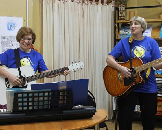 Прекрасный дуэт Светланы Шваревой и Ольги Волковой.