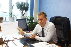 Директор МУП «Локомотив» Сергей Тюриков: «У нас устойчивый рост по перевозкам».