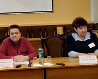 Руководитель отделения соцзащиты населения Людмила Билык и её заместитель Ирина Рымарь ответили на вопросы журналистов.