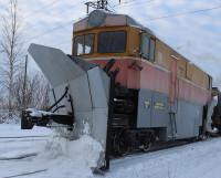Снежные заносы для «Локомотива» не проблема.