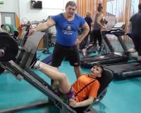 Не сбавлять оборотов! Очередная тренировка Матвея и Дмитрия.