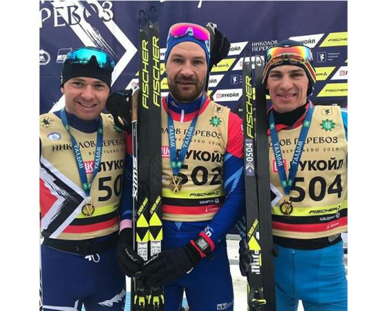 Слева направо:  Рауль Шакирзянов, Алексей Петухов и Алексей Шемякин.