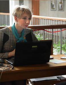 Ведущий инспектор Северодвинского центра занятости населения Елена Косырева.