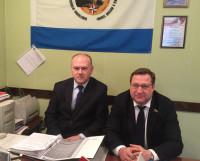 Председатель Координационного совета Алексей Кукушкин и депутат Госдумы  Дмитрий Юрков.