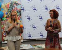 Презентация трансформа- ционных игр от Оксаны Оруджевой и её партнёра Натальи Петровой.