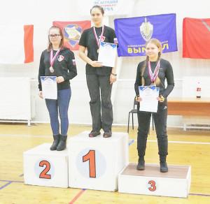 Екатерина стала серебряным призёром на всероссийских соревнованиях по спортивному мечу.