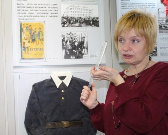 Любовь Карпова рассказывала о городе в режиме нон-стоп.