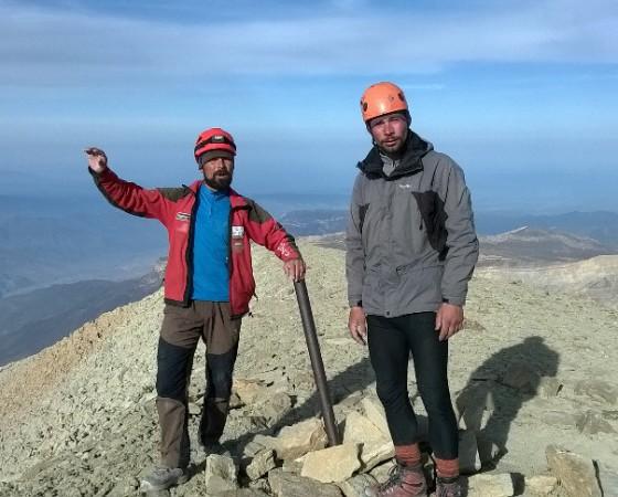 Напомним, осенью 2018 года северодвинцы Михаил Вещагин и Дмитрий Рыбальченко покорили гору Ерыдаг в Дагестане.