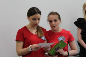 Команда «Кривые иглы» — Екатерина Лаврененко и Татьяна Коршакова.