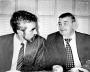 С мэром Александром Беляевым Валерий Зарецкий (справа) всегда находил общий язык.