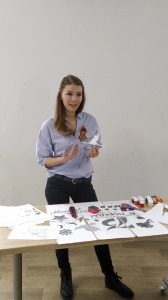 Мастер-класс провела специалист Молодёжного центра Дарья Басова.