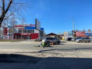 ДТП на улице Первомайской произошло 23 мая. Тут виновным оказался водитель легкового автомобиля «Мицубиси», он не уступил дорогу мотоциклу «Кавасаки». Благо дело обошлось ушибом лодыжки мотоциклиста.