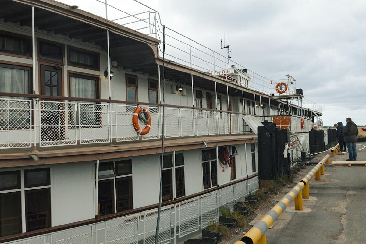 Сюбилеем, старина пароход!