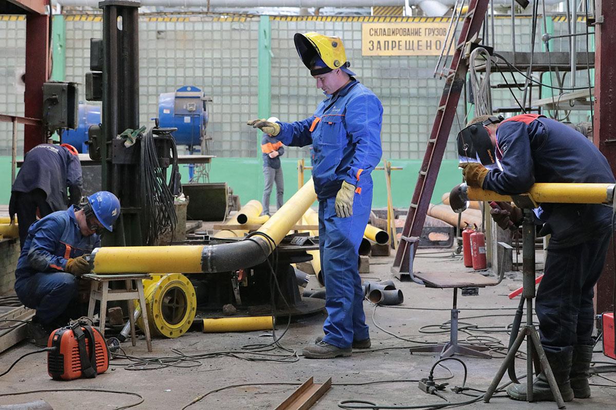 Жёлтые трубопроводы дошли допотребителей